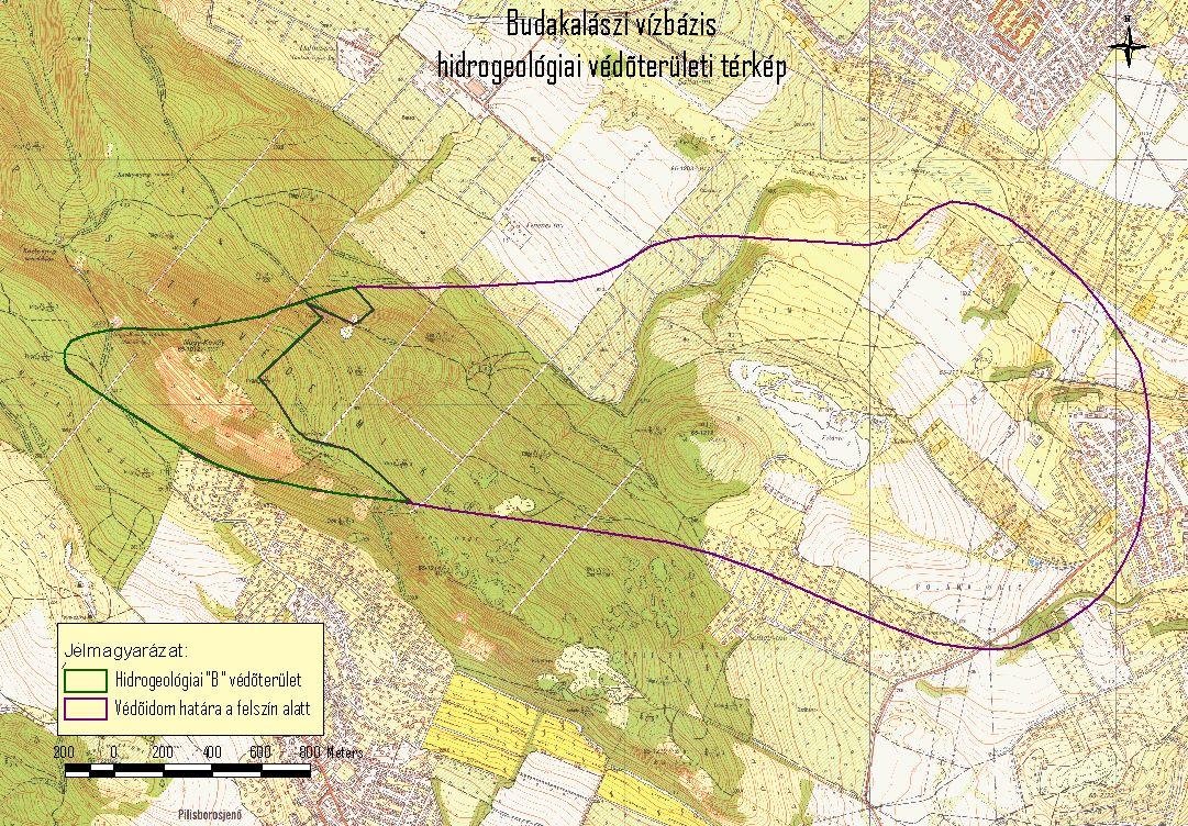 budakalász térkép DMRV Duna Menti Regionális Vízmű Zrt.   Budakalászi vízbázis budakalász térkép