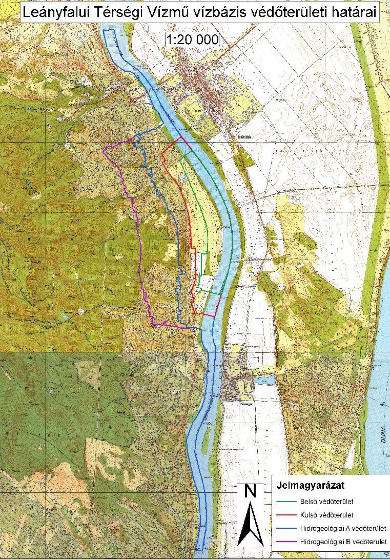 leányfalu térkép DMRV Duna Menti Regionális Vízmű Zrt.   Leányfalui vízbázis leányfalu térkép